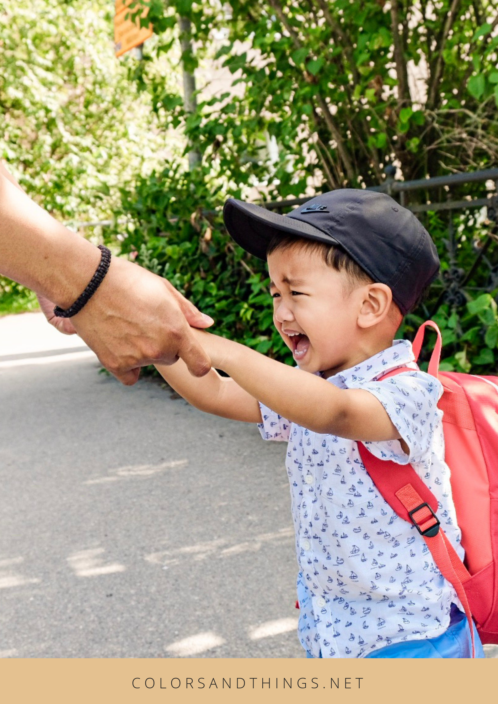 Overcoming your kid's first days of school